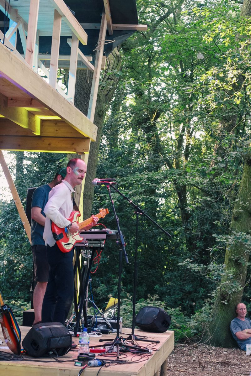 The Eyrie stage at Timber Festival