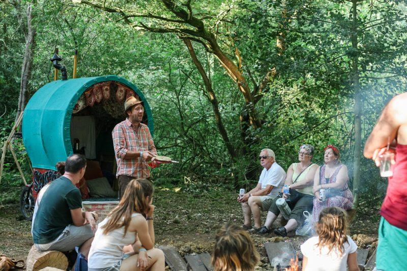 Ian Douglas at Timber Festival Campfire Storytelling