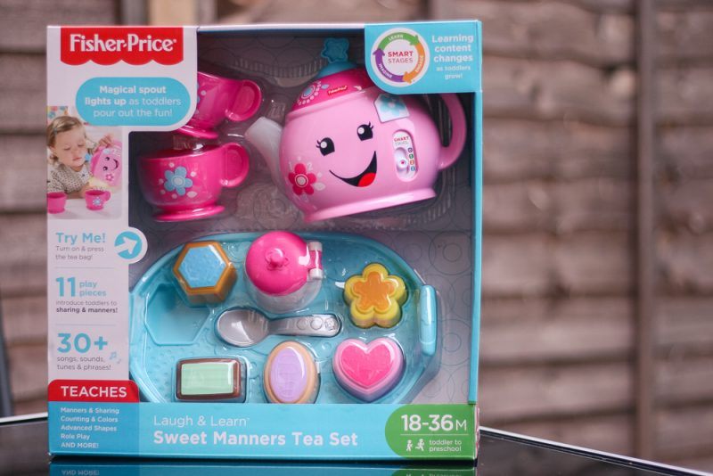 Learn and Laugh Sweet Manners tea set from Fisher-Price