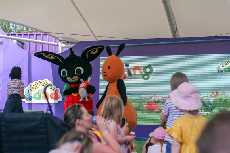 Bing Live Show at CBeebiesland Alton Towers