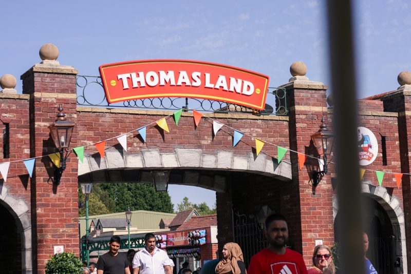 Thomasland at Drayton Manor in the summer