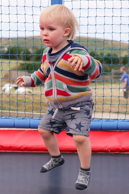 Trampolining at Holywell Fun Park