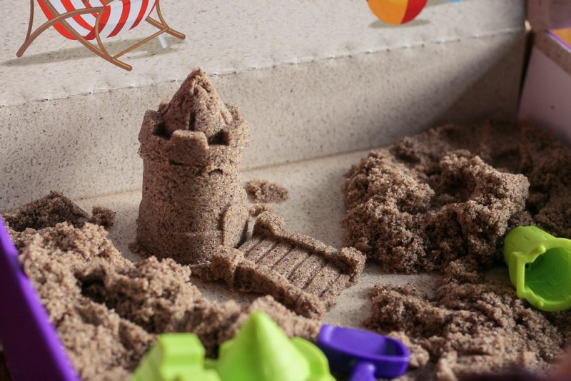 Getting creative with the sandcastle construction