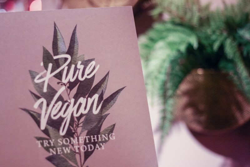The Victoria Inn has a whole vegan menu to suit different dietary requirements