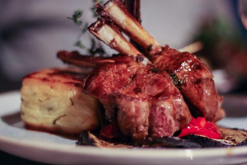 Scrumptious lamb dish at the Victoria Inn in Barnt Green