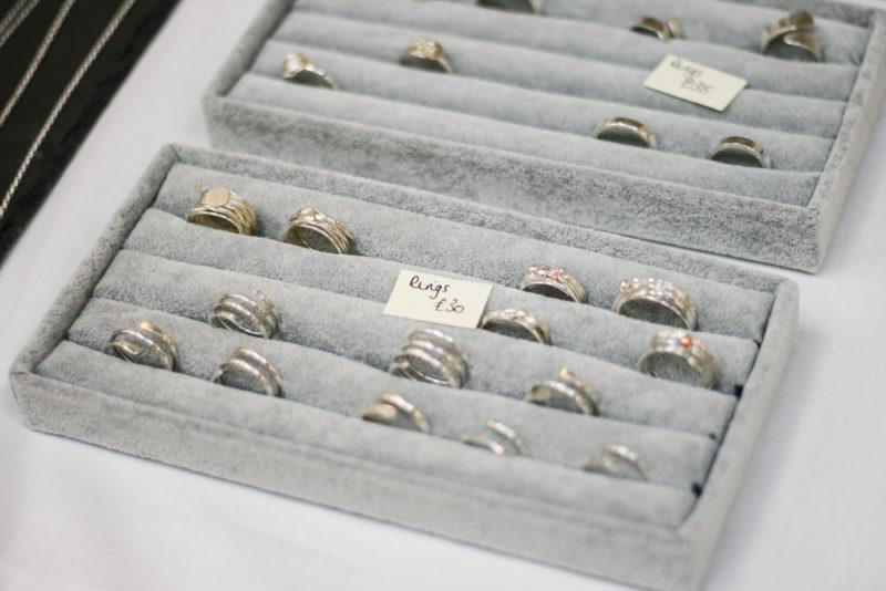 Stackable rings by Justine Morris Designs