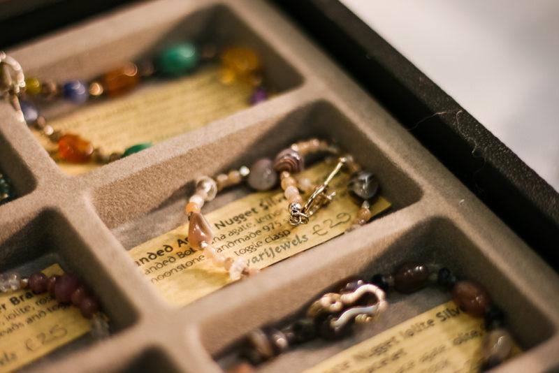 Close up of lovely bracelet