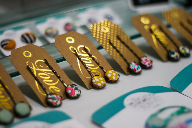 Hair pins made by Munchkin Madness