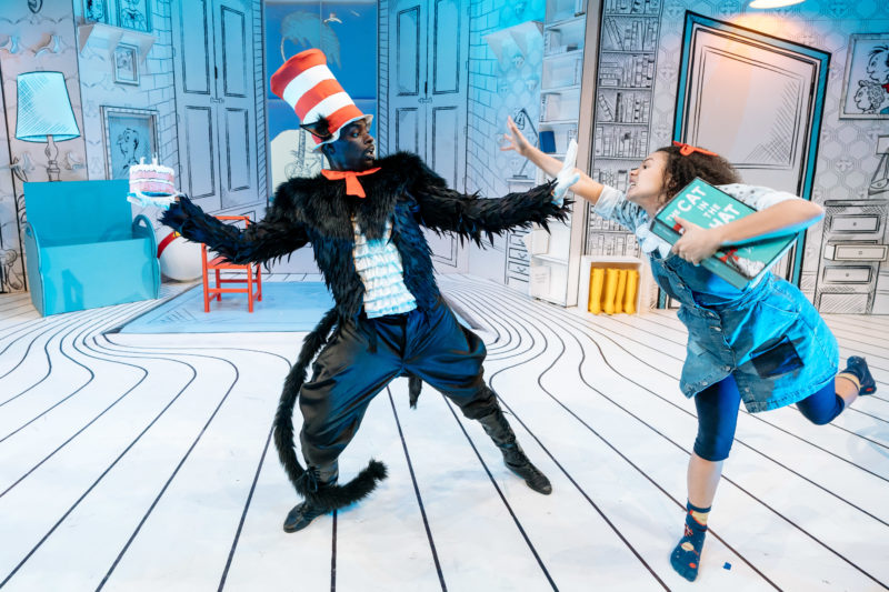 Cat in the Hat production at the Birmingham REP