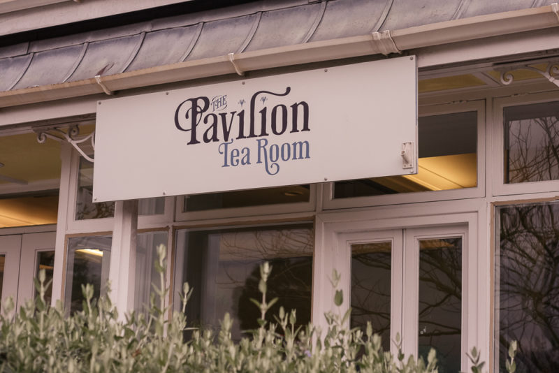 The Pavillion Tea Rooms at Botanical Gardens