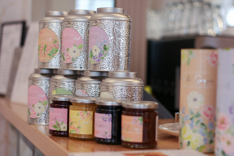 Jams on sale at Laura Ashley The Tea Room