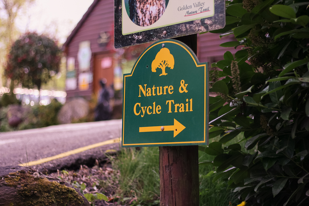 The onsite nature and cycle trail