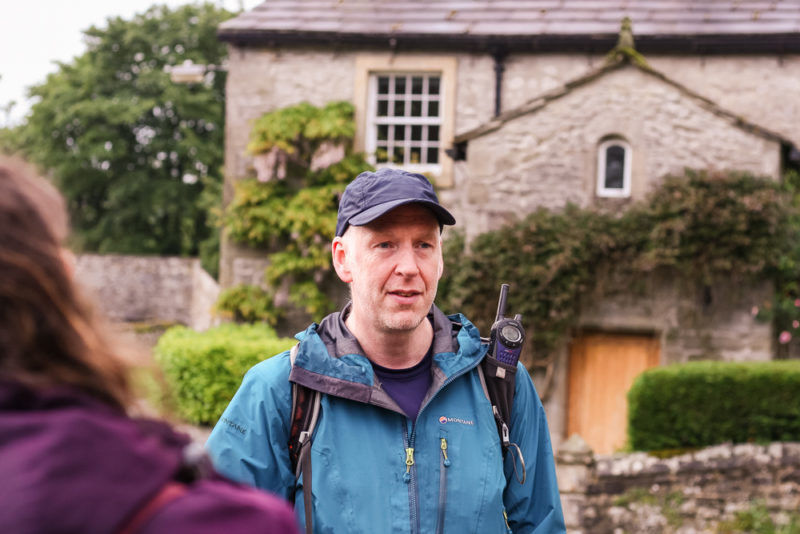 Mark Reid, the owner of Team Walking near the end of our walk