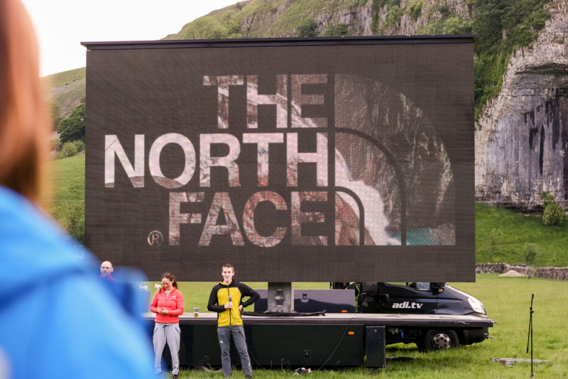 Presentations from the North Face athletes