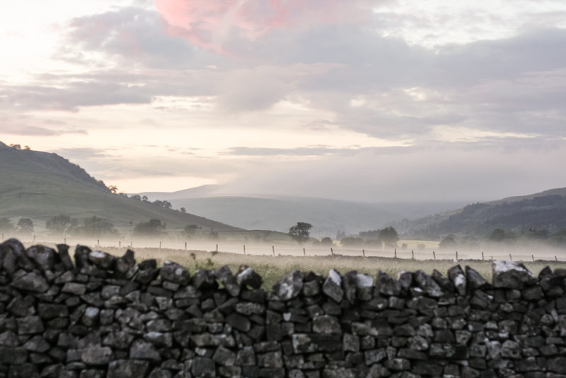 Beautiful scenery in the Yorkshire Dales