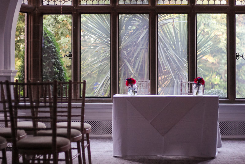 The perfect room for a wedding at The Iliffe