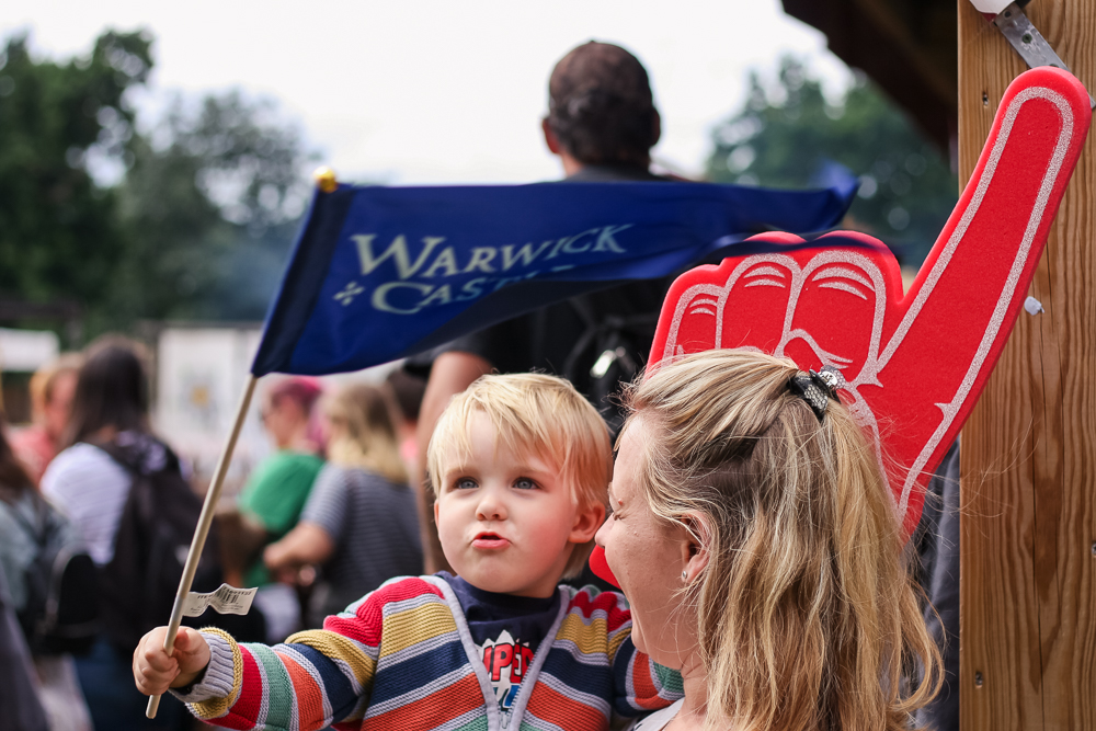 A Summer of Spectacular Shows at Warwick Castle