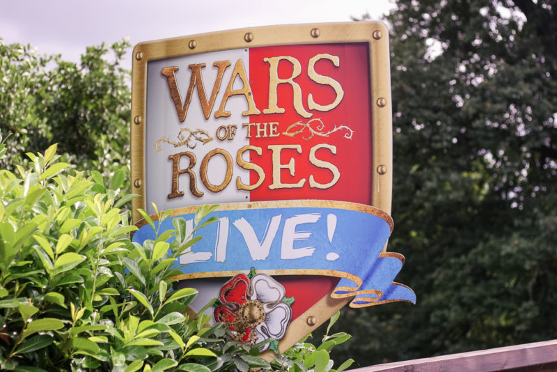 Cross the bridge to get to the War of the Roses Live show at Warwick Castle